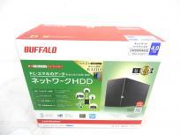 BUFFALO LS220D0402G ネットワーク ハードディスク 4TB タブレット PC 対応 バッファロー