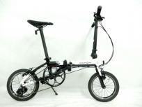 DAHON K3 14インチ 折りたたみ 自転車 1×3 3段階切り替え レッド×マットブラック ダホンの買取