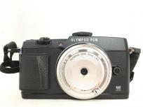 OLYMPUS PEN E-P5 カメラ 14-42mm 3.5-5.6 15mm 1:8.0 レンズ オリンパス ミラーレス 一眼レフ
