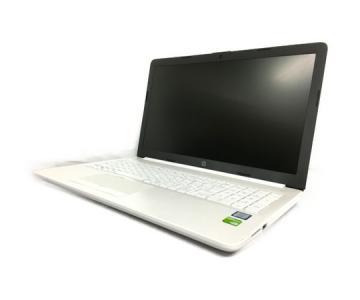 HP Laptop 15-da0058TX 15.6型 ノート PC Windows10 Home Intel Core i7-8550U 1.80GHz 8GB 1.0TB 128GB ピュアホワイト