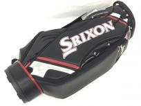 DUNLOP SRIXON GGC-S145 9.5型 キャディバッグ ゴルフ 合成皮革 ブラック