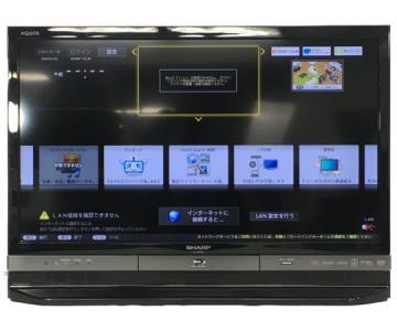 SHARP シャープ AQUOS LC-24R30-B 24型 液晶テレビ BD/HDD内蔵 ブラック 2015年製 大型