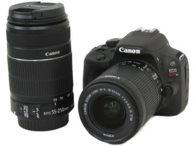 Canon EOS kiss X7 ダブル ズーム キット デジタル 一眼レフ カメラ キャノン レンズ 18-55mm 55-250mm