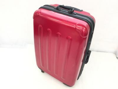 EMINENT スーツ ケース キャリーバック マグネットロック搭載 赤色 約40L