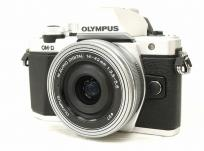 OLYMPUS OM-D E-M10 Mark II 14-42mm EZレンズキット シルバー ミラーレス 一眼カメラ