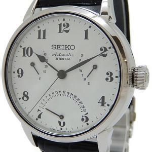 SEIKO セイコー プレサージュ 自動巻き メンズ レザーベルト 6R24-00E1