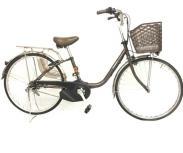 Panasonic パナソニック BE-ELSX63T ビビ 電動アシスト自転車 26型 チョコブラウン 大型の買取