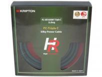 kripton クリプトン PC-HR1000M-Triple C 2m シルキー 電源ケーブルの買取