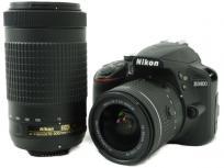 Nikon ニコン 一眼レフ D3400 ダブルズームキット デジタル カメラの買取