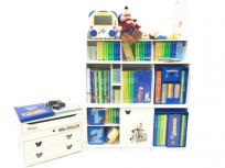 DWE ディズニー英語システム 2017年購入 教材 棚付き 子ども英語 幼児教育の買取