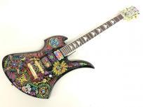 FERNANDES フェルナンデス MG-165X BLK/PAINT burny バーニー X JAPAN hideモデル サイケデリック エレキギター
