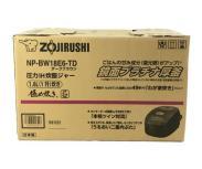 ZOJIRUSHI NP-BW18E6-TD 炊飯器 象印 ダークブラウン