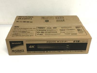 SHARP AQUOS 4Kレコーダー 4B-C20AT3 ブルーレイレコーダー