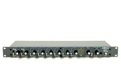 ASHLY LX-308B アシュリー ステレオ ライン ミキサー 8ch