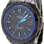 CASIO カシオ OCEANUS オシアナス OCW-T100 腕時計 ソーラー 電波 メンズ