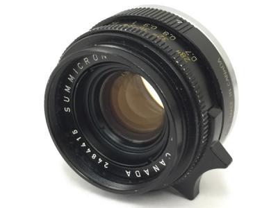 LEITZ SUMMICRON 35mm F2 LENS MADE IN CANADA Leica カメラ レンズ