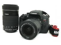 Canon キャノン EOS kiss X8i EFS55-250mm EFS18-55mm ダブルズーム キット 一眼 カメラの買取