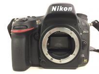 Nikon ニコン D600 デジタル一眼 カメラ ボディ ブラック デジイチの買取