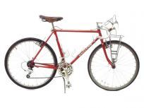 引取限定 SWALLOW Randonneur 500mm クロモリ ビンテージ メープルレッド ロードバイク