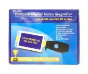 ボニス Portable Digital Video Magnifier 5インチ HD colorful LCD screen 電子ルーペ