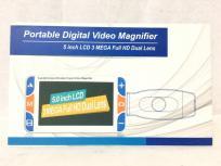 ボニス Portable Digital Video Magnifier 5インチ Full HD Dual Lens 電子ルーペ