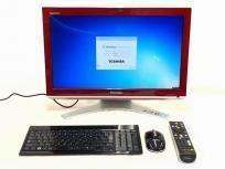 TOSHIBA dynabook Qosmio D711/T9BR 一体型 パソコン i5 2410M 2.30GHz 4GB HDD 1.0TB Win7 HP 64bit 訳あり