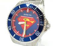 Invicta インビクタ 腕時計 DCコミックモデル スーパーマン メンズ シルバー 自動巻き 26896