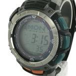 CASIO カシオ PROTREK プロトレック PRW-1000J 腕時計 メンズ ブラック ソーラー デジタル