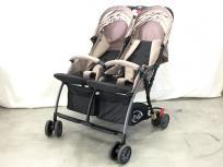 Pali パリージャパン TRE 9 トレプントノーベ 双子用 ベビーカー ツイン ベージュ