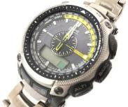 CASIO カシオ PROTREK PRW-5000T 腕時計 タフソーラー 電波時計 アウトドア メンズ
