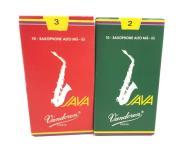 JAVA Vandoren 2 SR262 3枚 3 SR263 7枚 アルト サックス リード