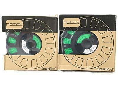 SmartReel CEL Robox用 3Dプリンターフィラメント PLA Φ1.75mm 長さ240m 2セット Chroma Green