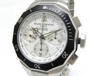 BAUME &MERCIER ボームアンドメルシェ リビエラ クロノグラフ 腕時計 自動巻き メンズ