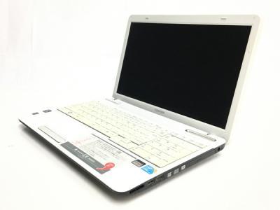 TOSHIBA dynabook EX/56MWH ノートパソコン 15.6型 i3 M 350 2.27GHz 4GB HDD 500GB Win7 Home 32bit リュクスホワイト 訳あり