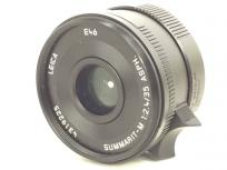 Leica SUMMARIT-M 2.4/35 ASPH. 35mm F2.4 E46 UVa ライカMマウント ズマリット ブラック 単焦点レンズ レンジファインダーカメラ