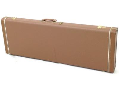 Fender フェンダー 楽器ケース ハードケース アクセサリー ブラウン系