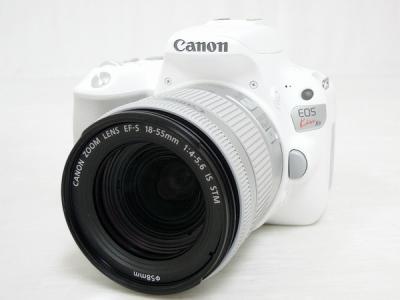 Canon EOS Kiss X9 EF-S 18-55mm f4-5.6 IS STM レンズKit デジタル カメラ ホワイト キャノン