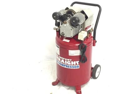 引取限定 STRAIGHT ストレート エアーコンプレッサー 17-6018 3馬力 圧力 空気 カーメンテナンス 100V