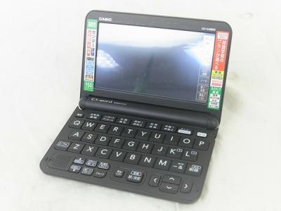 CASIO EX-word XD-G4800 BLACK エクスワード 高校生モデル