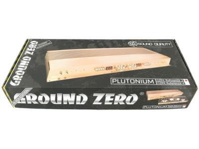 Ground zero グランドゼロ 2Chアンプ GZPA Reference2 BLACK EDITION カーオーディオ