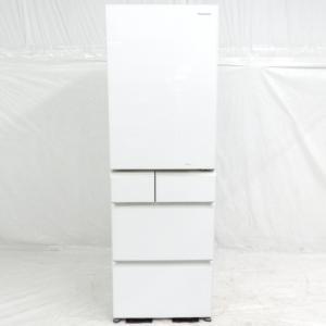 Panasonic パナソニック NR-E431GV-W トップユニット 冷蔵庫 411L 5ドア 右開き 家電 大型