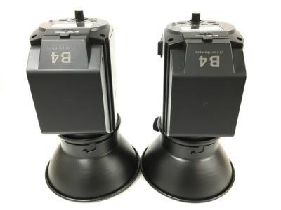 CONONMARK コノンマーク B4 バッテリー フラッシュキット 400W 2灯 ストロボ カメラ周辺機器