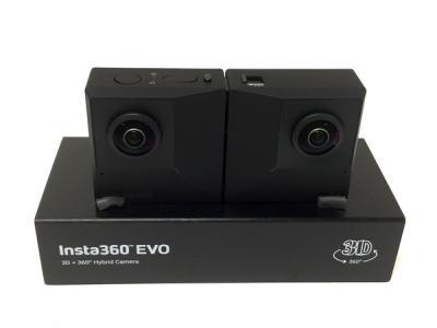 Insta360 EVO CINEVOX 360度 180度3D アクション カメラ