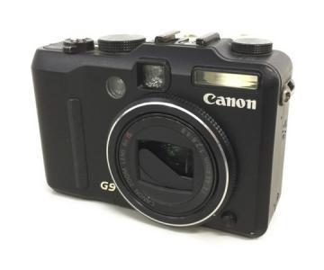 Canon キャノン Power shot パワーショット G9 コンパクトデジタルカメラ コンデジ デジカメ ボディ ブラック
