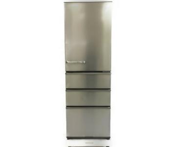 AQUA アクア AQR-SV38H 4ドア 375L 2019年製 右開きタイプ 冷蔵庫 SVシリーズ グロスブラウン 冷蔵庫 大型 大型