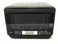 TOSHIBA ER-LD7 (K) 石窯ドーム スチーム オーブンレンジ 電子レンジ ブラック 2013年製 東芝 家電
