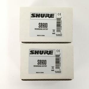 SHURE SB900 ワイヤレス用 リチウムイオン電池 2個セット