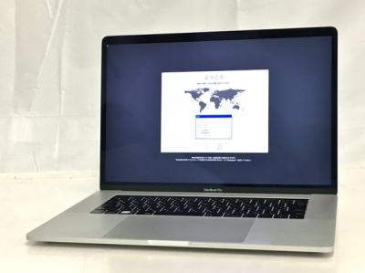 訳あり Apple MacBook Pro MLW82J/A ノート PC 15.4型 i7 6820HQ 2.7GHz 16GB SSD512GB Mojave AMD Radeon Pro 455 シルバー