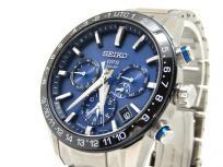 SEIKO セイコー アストロン 5X53-0AE0 ソーラー電波 GPS SBXC015 ブルー文字盤 メンズ 腕時計