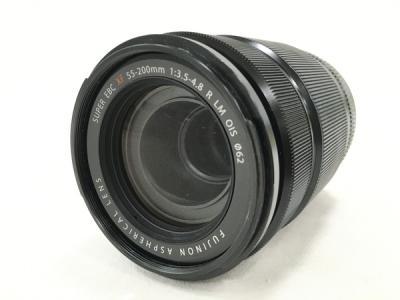 FUJINON XF 55-200mm F3.5-4.8 R LM OIS カメラ レンズ ズームレンズ 望遠 フード付き